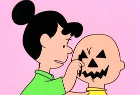 Charlie Brown Pumpkin drawing