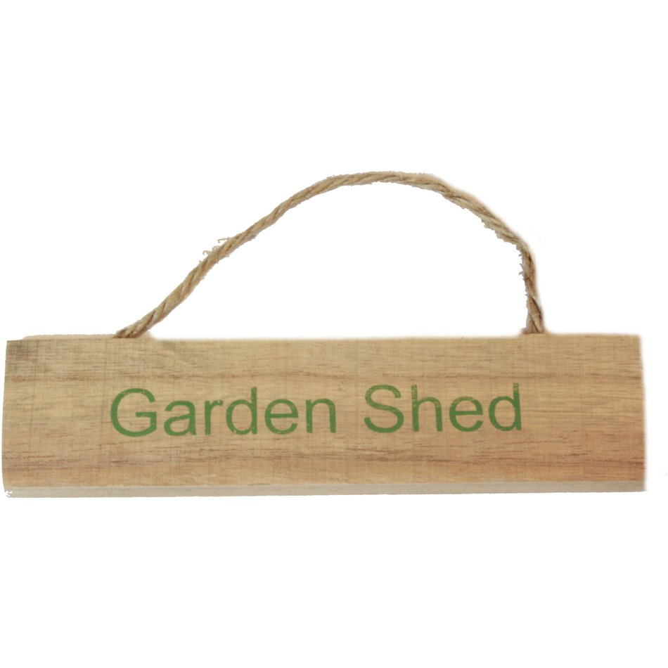 Garden Shed Sign clipart