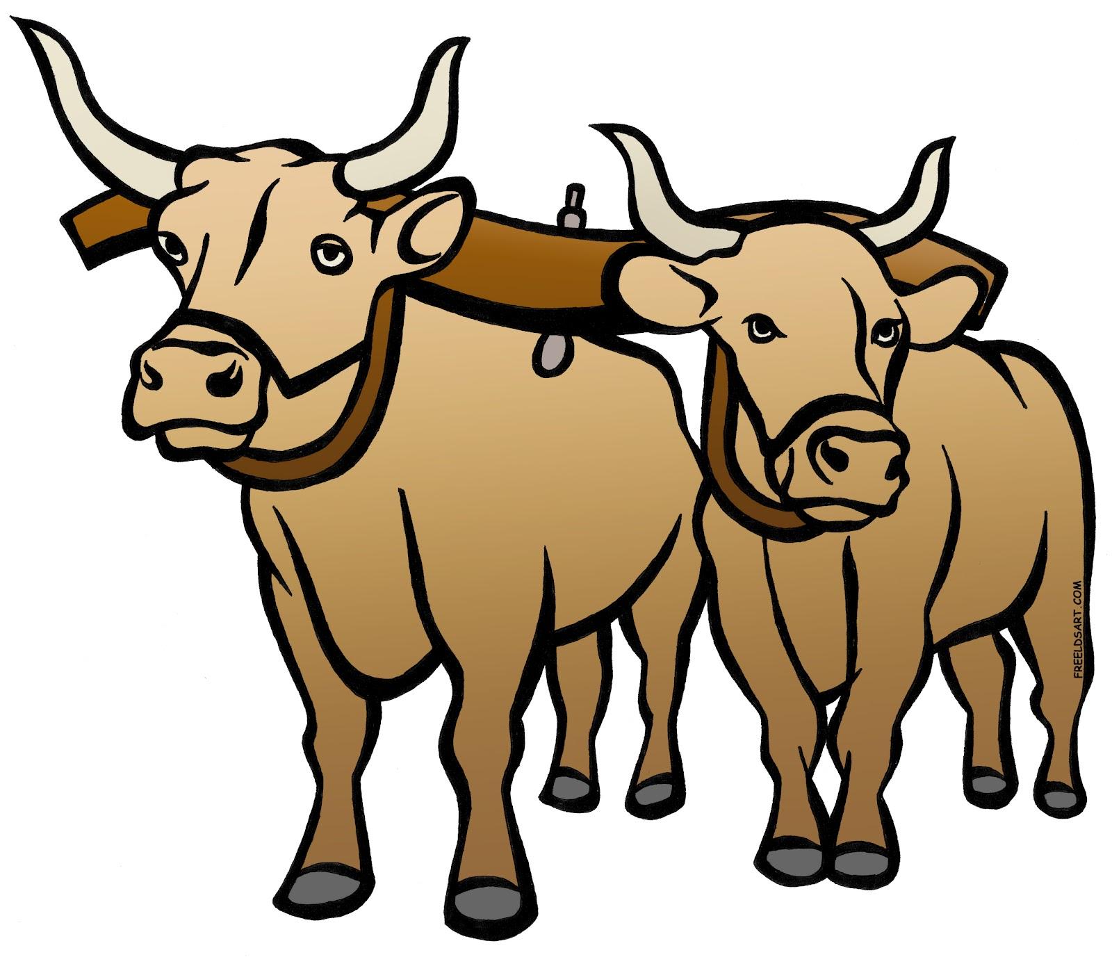 Oxen Yoke drawing free image download