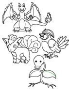 Pokemon Coloring Pages drawing