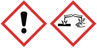 Chemical Hazard Pictograms drawing