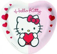 Hello-Kitty heart clipart