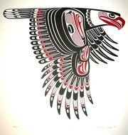 Native American Eagle drawing