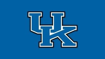 flag of Kentucky Wildcats sports team, drawing