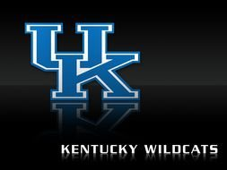 Throwback Kentucky Wildcats drawing