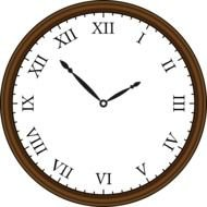 Retro Clocks as picture for clipart