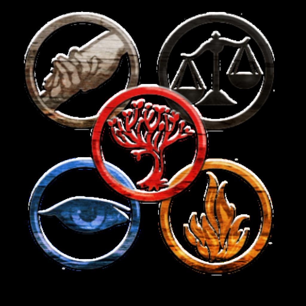 İllustration of Divergent Faction Symbols free image
