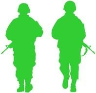Army Soldiers From
