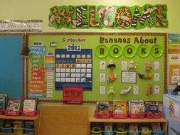 Preschool Birthday Charts Classroom Rules N4
