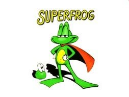 superFrog Coloring Pages drawing
