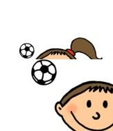 Animated Girls Playing Soccer