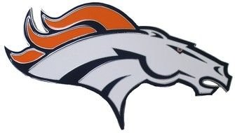 Denver Broncos horse Logo drawing