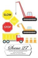 Construction Zone Signs Clip Art N7