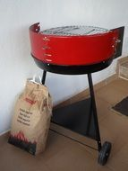 Kit for barbecue grill charcoal grill sausage