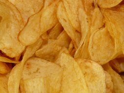 potato chips, unhealthy food