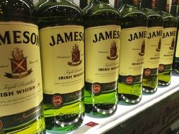 Jameson is an alcoholic drink