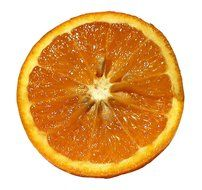 orange citrus fruit cut