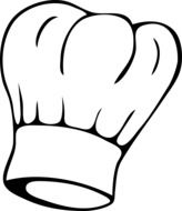 clipart,picture of chef's hat
