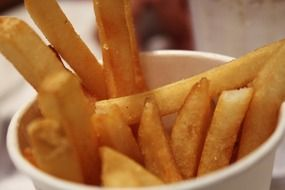 tasty and fresh french fries