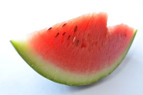 sliced juicy sweet watermelon fruits