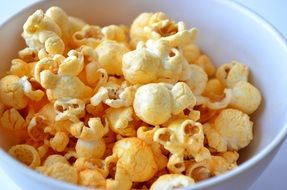 salty popcorn fast food movie cinema