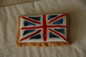 british flag cookie
