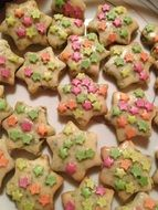 cookies with sweet stars