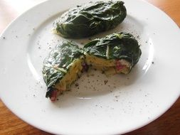 specialty chard bacon cheese
