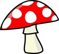 mushroom red cartoons drawing