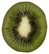 kiwi fruit vitamins slice