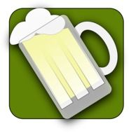 Beer in the glass clipart