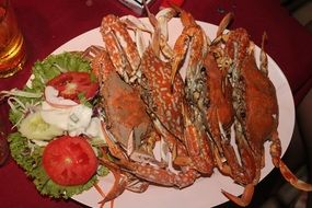 incredible food crabs