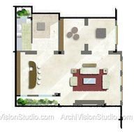 Floor Plans And Site Plan Drawing