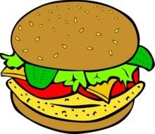 Food Clip Art drawing