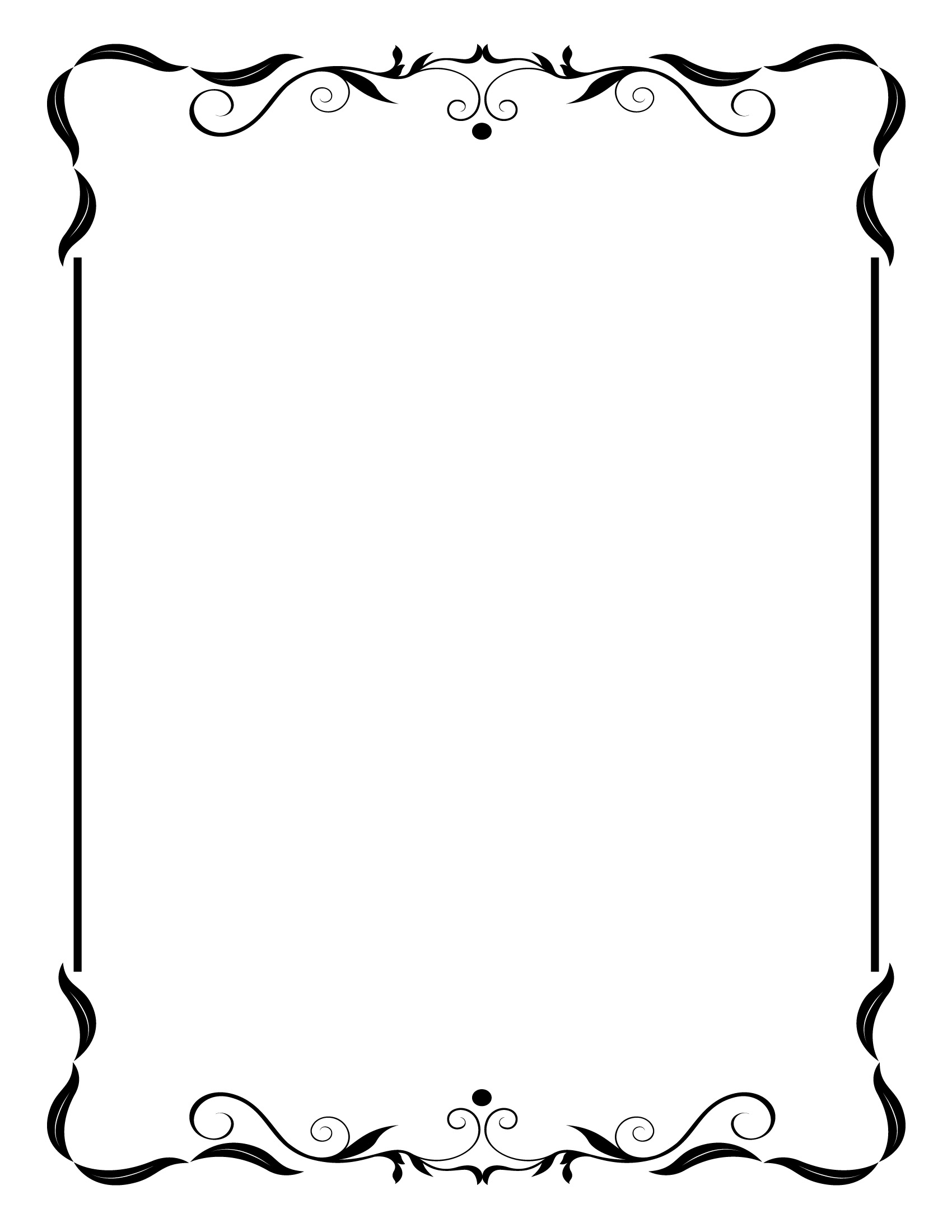 Vintage frame border Golden Simple Vintage Frame Border Clip Art N2 Pixyorg Simple Vintage Frame Border Clip Art N2 Free Image