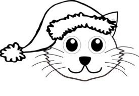 Cat as a picture for a clipart