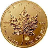 Canadian Maple Leaf Gold Coin drawing