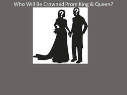 King And Queen Ballot Templates drawing