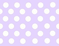 Purple Polka Dots drawing