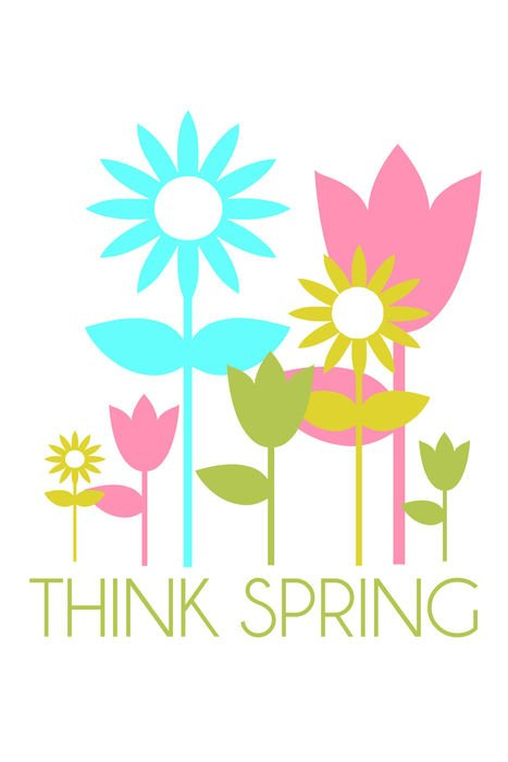 card Think Spring