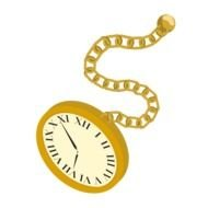 Clipart of Pocket Watch