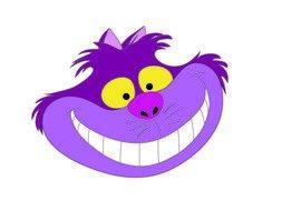 Alice In Wonderland Cheshire Cat Smile