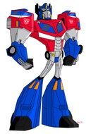 Transformers Animated Optimus Prime drawing