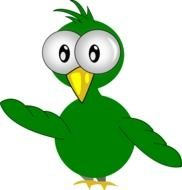 Cartoon Bird Clip Art drawing
