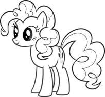 My Little Pony Pages Printable drawing