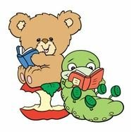 Bear Reading Book Clip Art N9