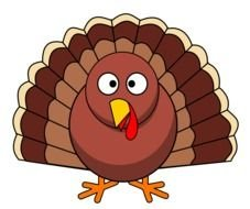 Thanksgiving Turkey Clipart drawing