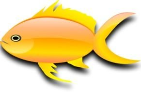 Cartoon gold fish clipart