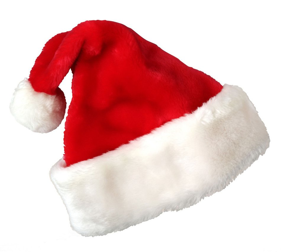 Christmas Santa Claus Hat as a picture for clipart