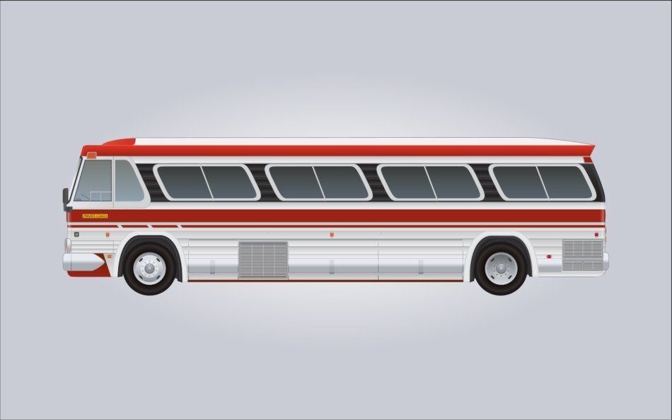 isolated GM bus
